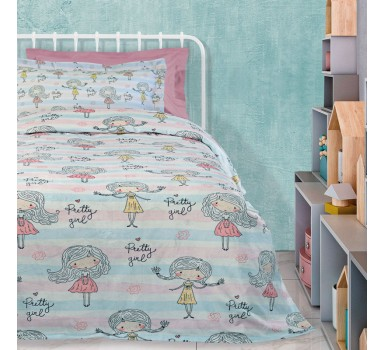 Κουβέρτα Fleece Μονή Kids Blankets Line Prints 4728 Das Home (160x220) 1Τεμ