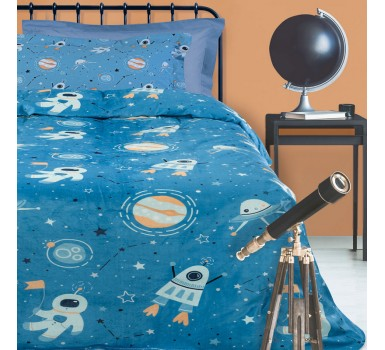 Κουβέρτα Fleece Μονή Kids Blankets Line Prints 4729 Das Home (160x220) 1Τεμ