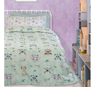 Κουβέρτα Fleece Μονή Kids Blankets Line Prints 4739 Das Home (160x220) 1Τεμ