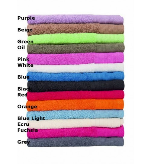 Πετσέτα Προσώπου Bath Towels Pennie Solid Cotton Dim Collection (50x100) 1Τεμ