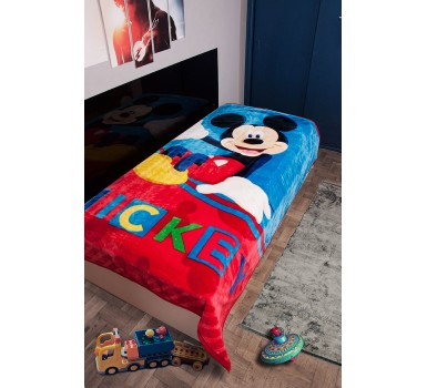 Κουβέρτα Βελουτέ Μονή Disney Kids Velour Mickey 561 Digital Print Dim Collection (160x220) 1Τεμ