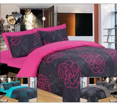 Μαξιλαροθήκες Σετ Premium Night Lotus Fuchsia Cotton Le Blanc (50x70) 2Τεμ