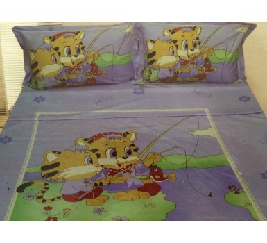 Κουβερλί Μονό Bed Kids Imperial Satin 003 Cotton Palamaiki (170x230) 1Τεμ