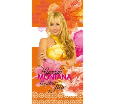 Πετσέτα Θαλάσσης Παιδική Beach Towel Kids Disney Hannah Montana Cotton Palamaiki (75x150) 1Τεμ