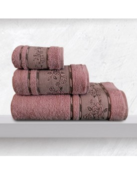 Πετσέτα Χεριών Bath Towels Themis Dusty Jacquard Cotton Sb Concept (30x50) 1Τεμ