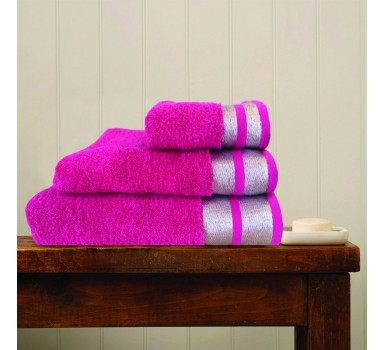 Πετσέτα Χεριών Bath Towels Ice Fuchsia Cotton Makis Tselios (30x50) 1Τεμ