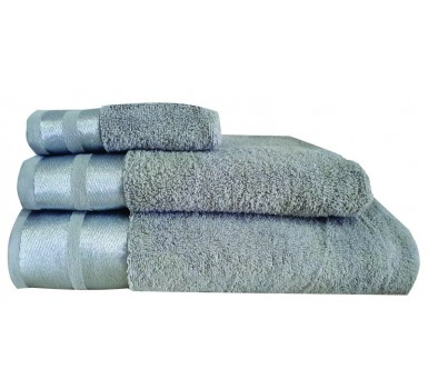 Πετσέτα Χεριών Bath Towels Ice Silver Cotton Makis Tselios (30x50) 1Τεμ