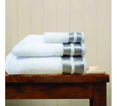 Πετσέτα Χεριών Bath Towels Ice White Cotton Makis Tselios (30x50) 1Τεμ