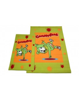 Χαλί Παιδικό Kids Carpets Gummy Bear Green Viopros (140x200) 1Τεμ